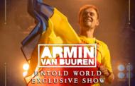"""""""ARMIN UNTOLD"""", show-ul anului în Europa"""