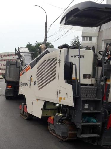 Reabilitare trotuare și asfaltare străzi în municipiul Constanța