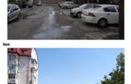 O nouă parcare pe Strada Pandurului