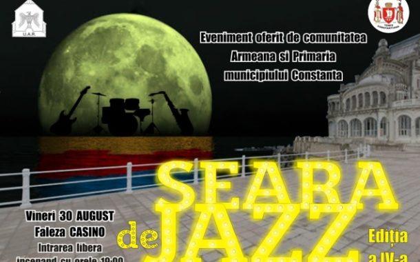 """""""Seară de Jazz""""pe faleza Cazinoului din Constanța"""
