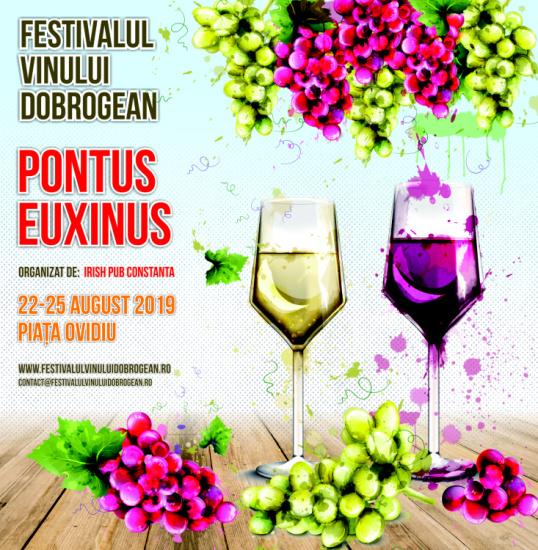 """""""Festivalul Vinului Dobrogean 2019 Pontus Euxinus"""""""