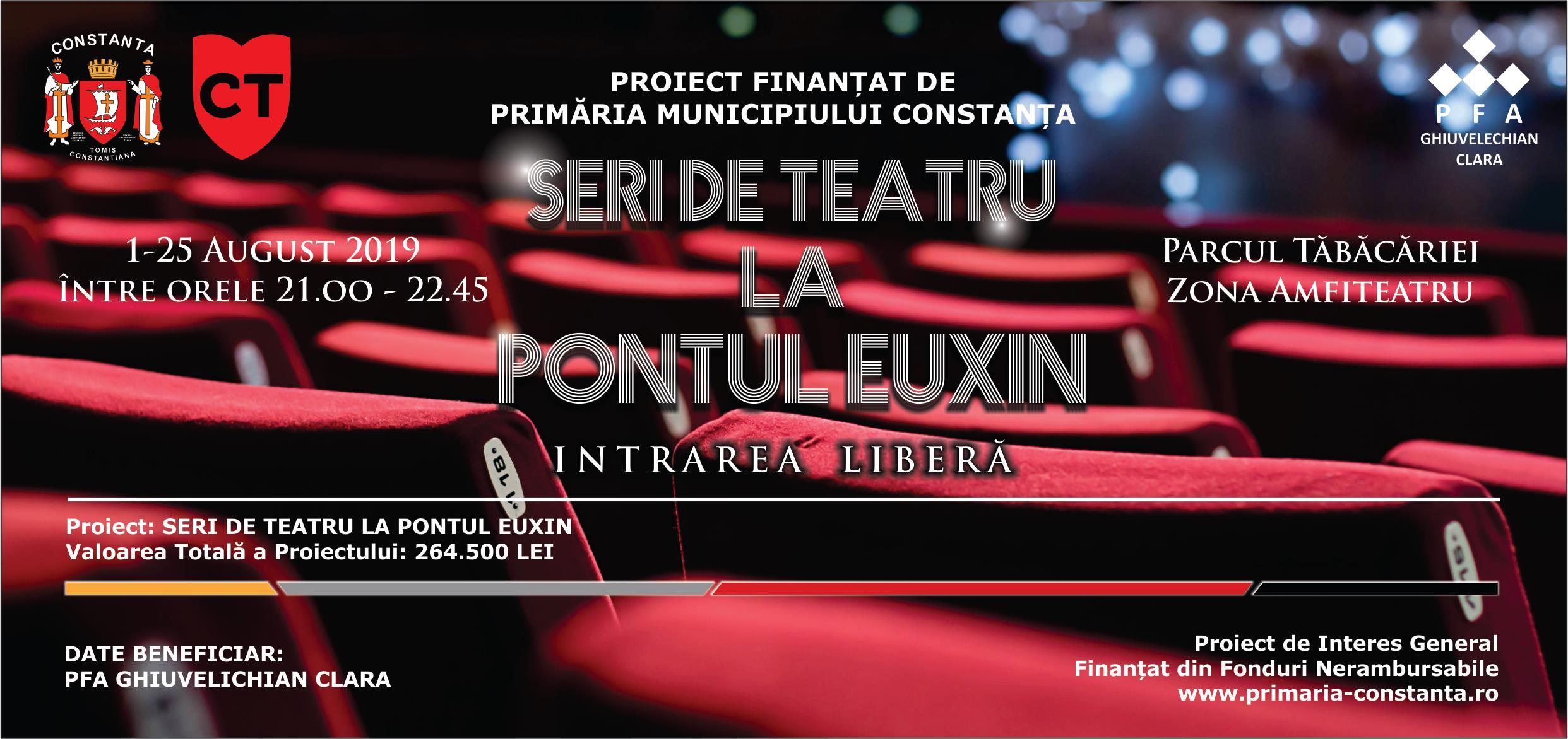 """""""Seri de teatru la Pontul Euxin"""""""