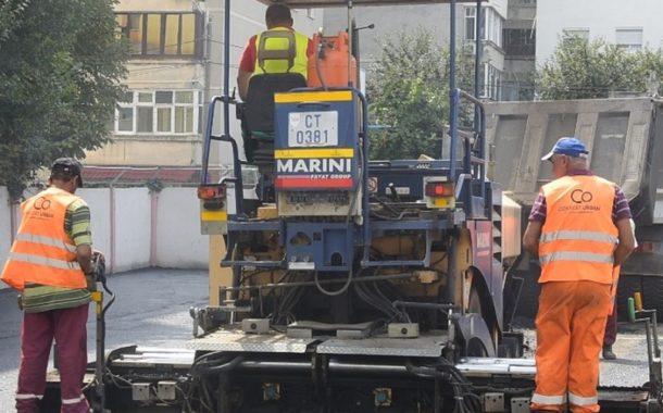 Lucrări edilitare în Constanța în luna august