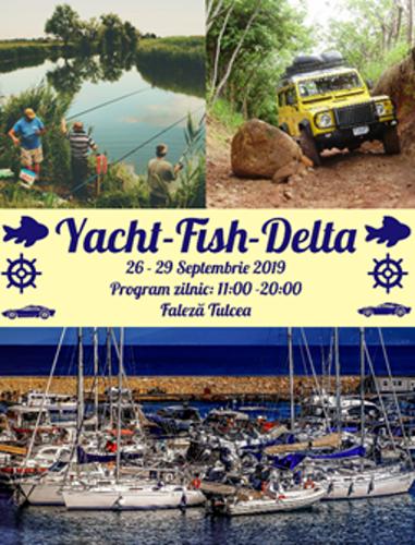 Yacht-Fish-Delta își deschide porțile la Tulcea