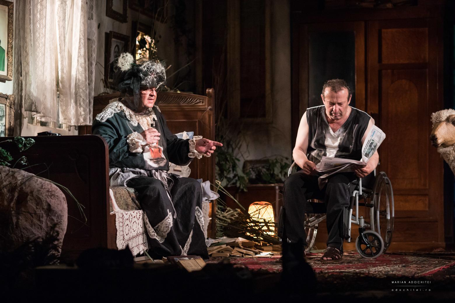 BILLY ȘCHIOPUL de Martin McDonaghpe scena Teatrului de Stat Constanța