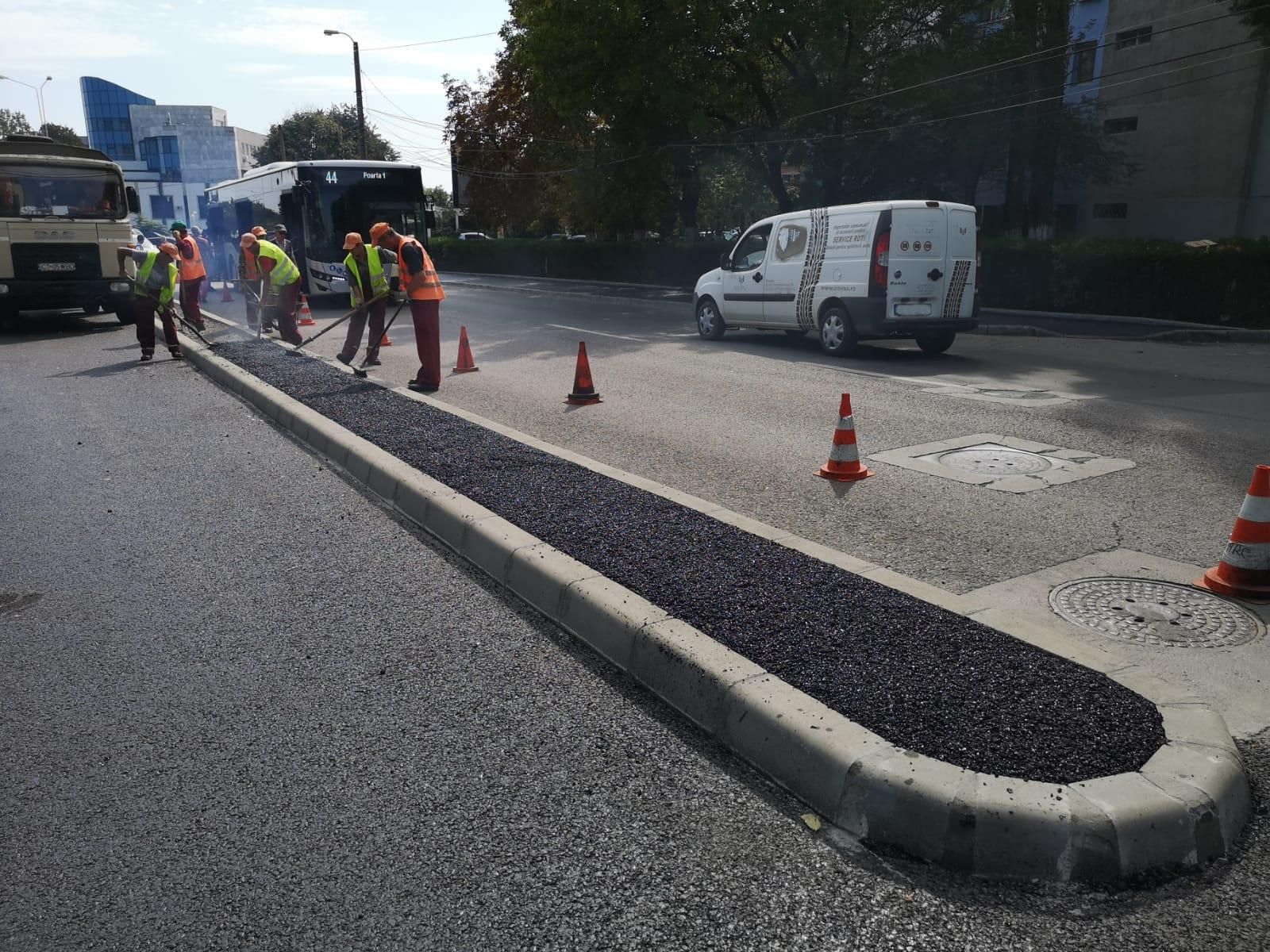 Atenție, șoferi! Ce lucrări se desfășoară în Constanța, în luna octombrie