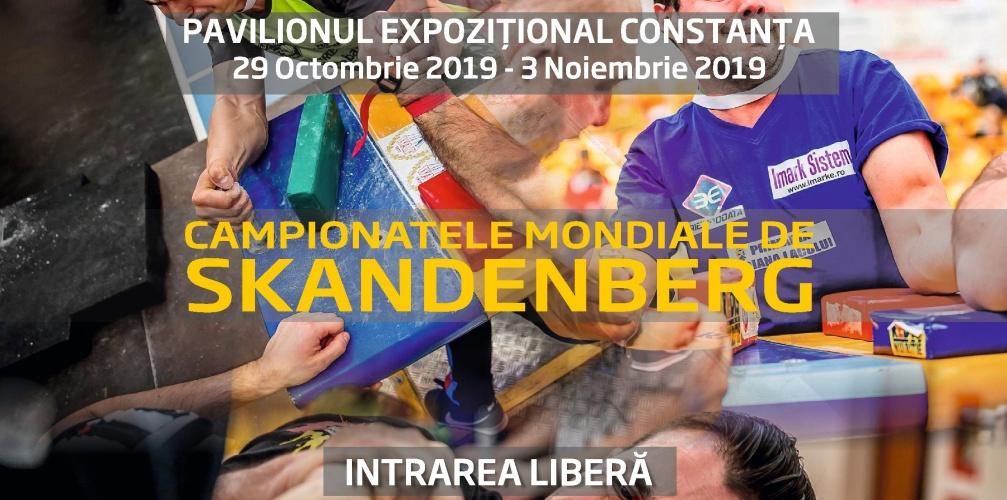 Campionatul Mondial de Skandenberg, la Constanța