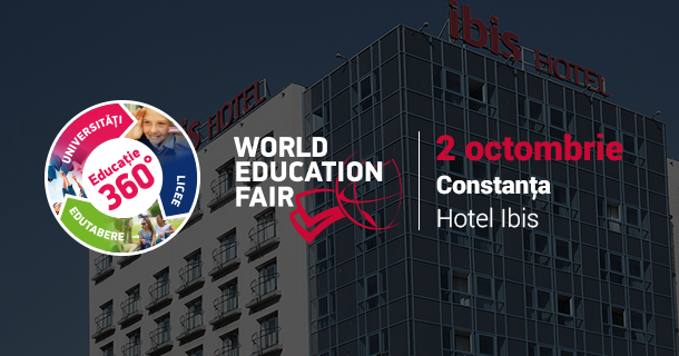 World Education Fair vine la Contanța