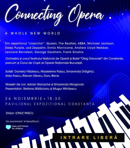 """Concert """"Connecting Opera – A Whole New World"""""""