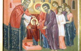 21 noiembrie – Intrarea în biserică a Maicii Domnului