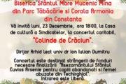 Corala Armonia va invita la Colinde