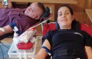 Donează sânge, salvează o viaţă! Vino alături de noi!Jandarmii constănţeni donează sânge pentru semenii lor