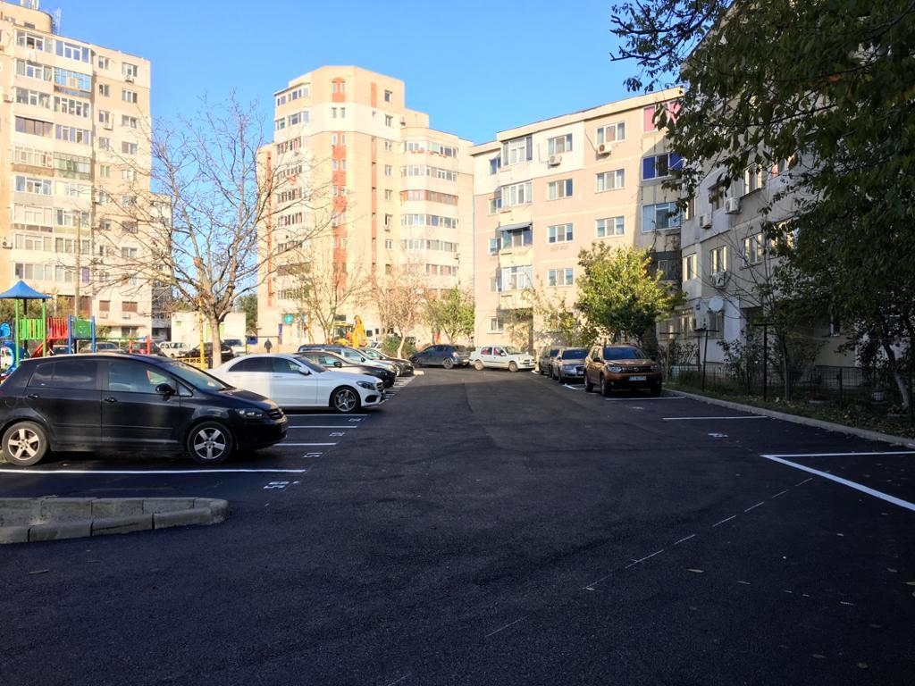 Noi locuri de parcare în Constanța