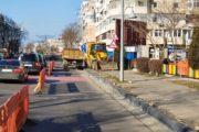 Reabilitarea trotuarelor pe bulevardul Tomis