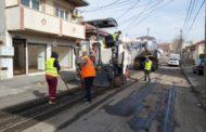 Se reabilitează carosabilul pe străzile din cartierul Faleză Nord