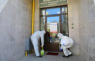 Continuă distribuirea dezinfectanților către toate blocurile din municipiul Constanța