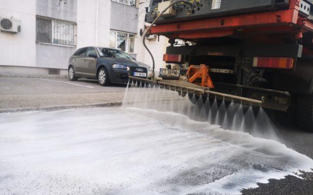 Se reiau acțiunile de dezinfecție în cartierele constănțene