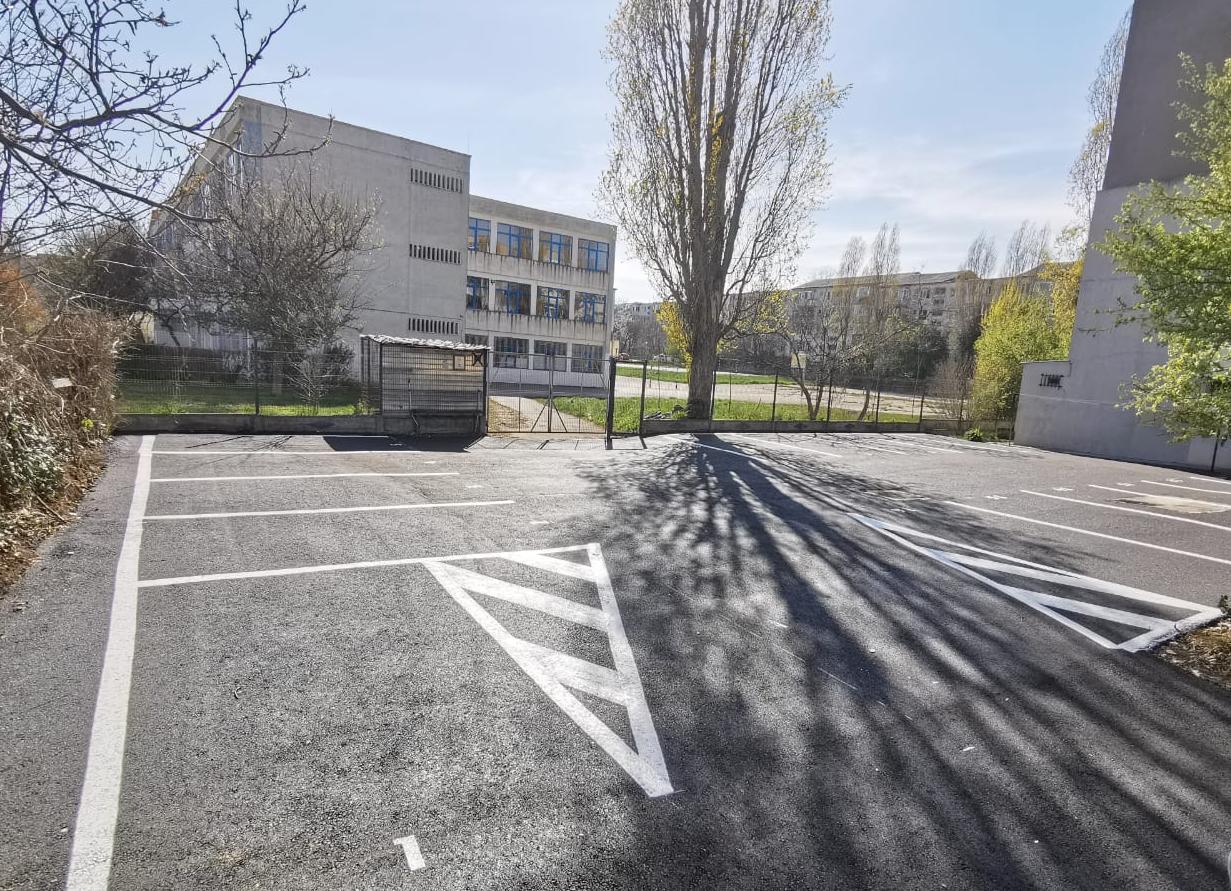 O nouă parcare în KM 4-5