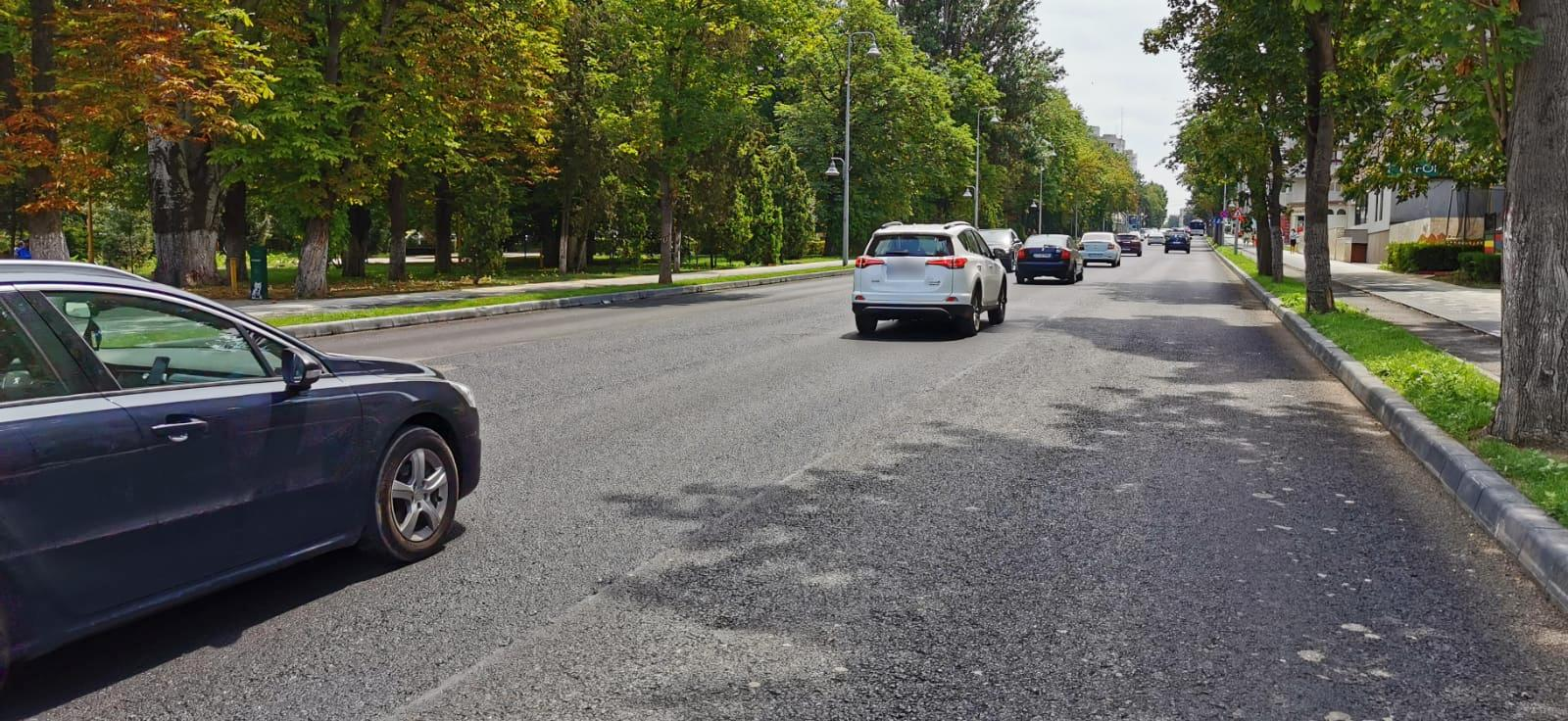 Atenție, șoferi! Se reiau lucrările de asfaltare pe bulevardul Tomis