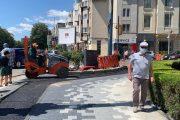 Continuă lucrările de amenajare a pistelor pentru biciclete