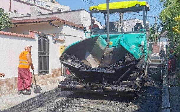 Străzi din zona Dacia reabilitate