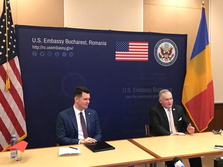 Ambasadorul Zuckerman și adjunctul șefului misiunii diplomatice au avut o întrevedere cu Prim-Ministrul Cîțu