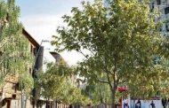 Strada Ștefan cel Mare se transformă într-o esplanadă modernă