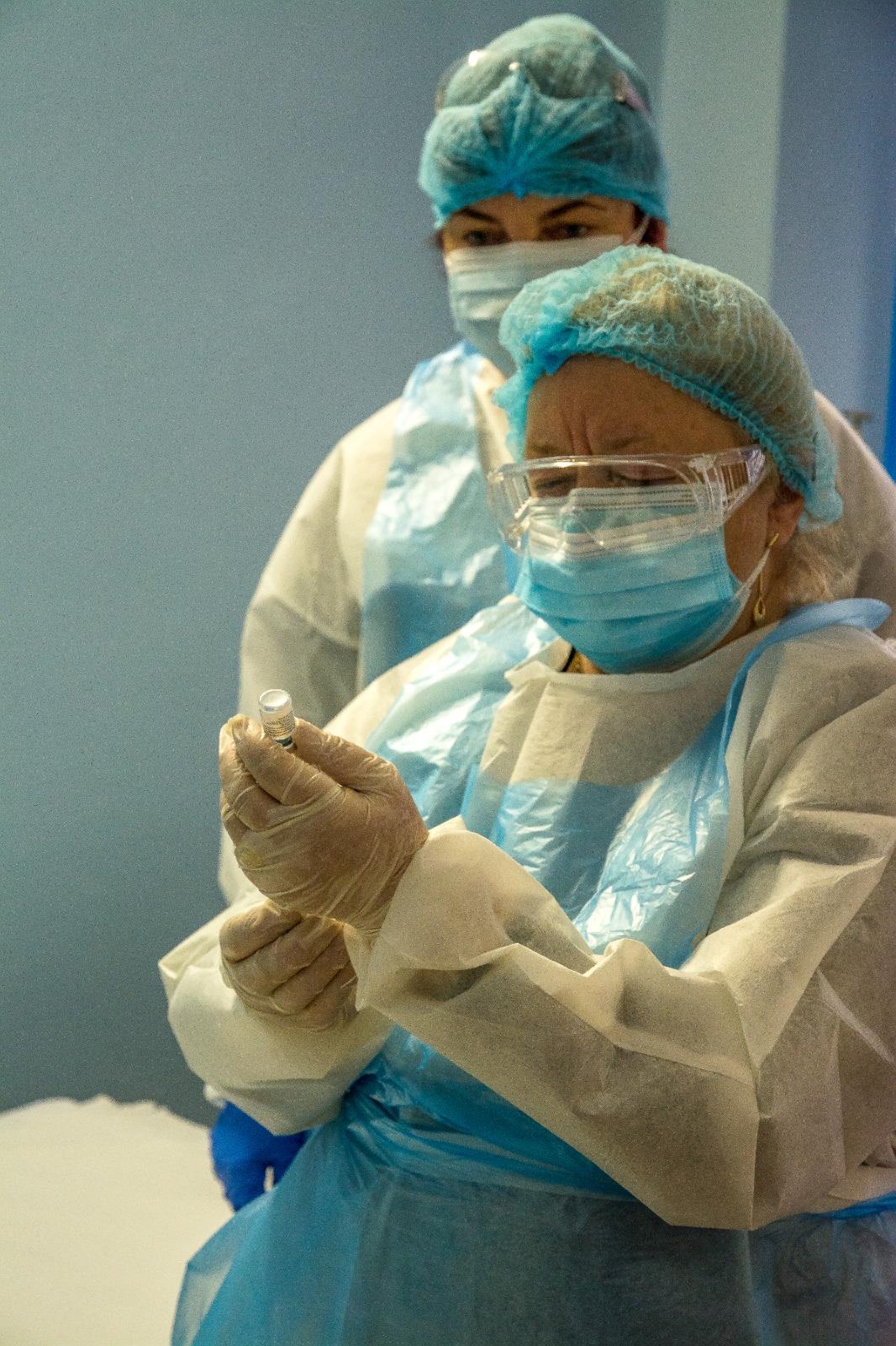 Cadrele medicale din Mangalia se vor vaccina cu doza de rapel a vaccinului anti-COVID